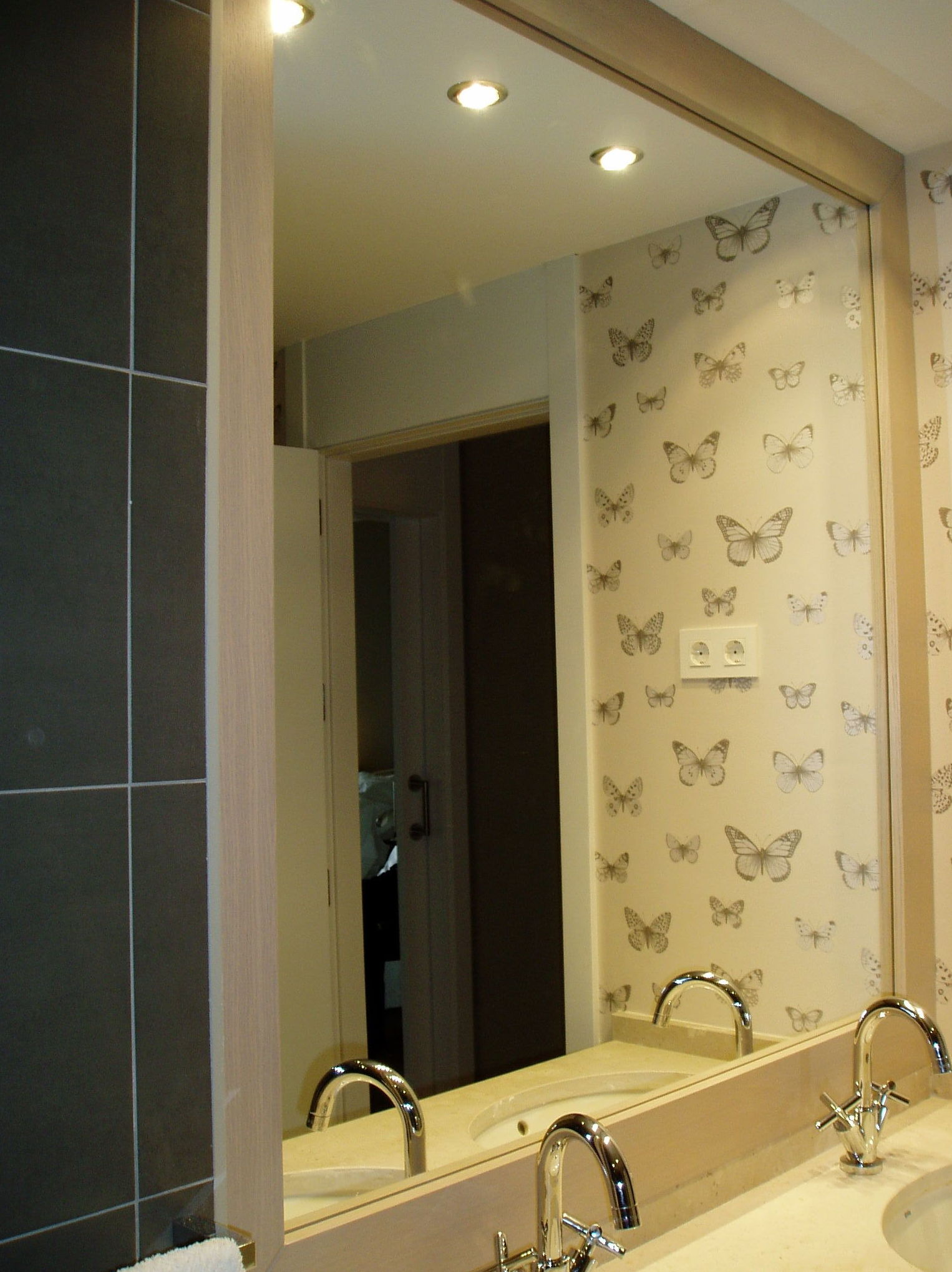 Espejo de baño a medida