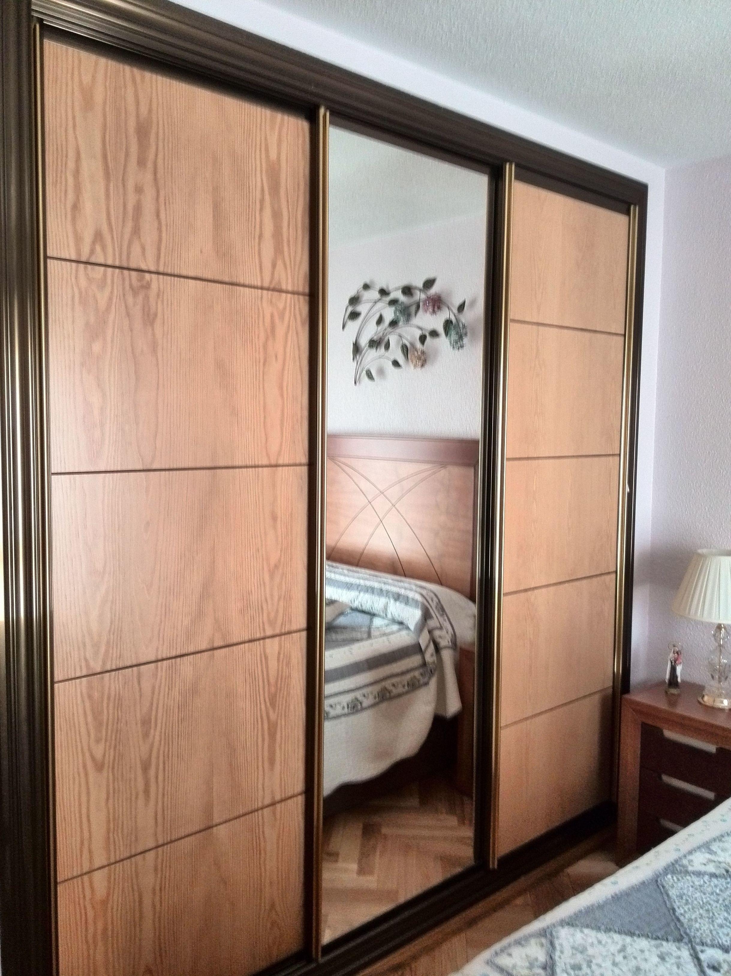 Frente de armario  corredera doble apertura