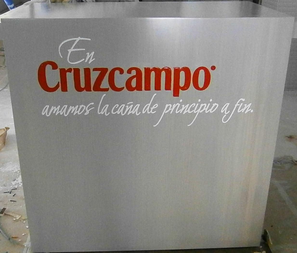 Podium de Cruzcampo