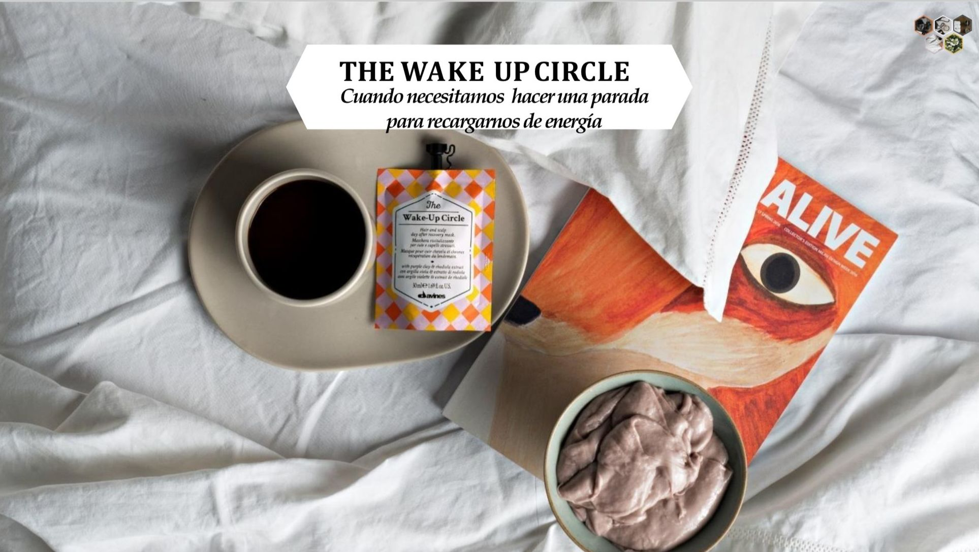 THE WAKE-UP CIRCLE: Alta Cosmética Natural de Sostenible Beauty Concepts