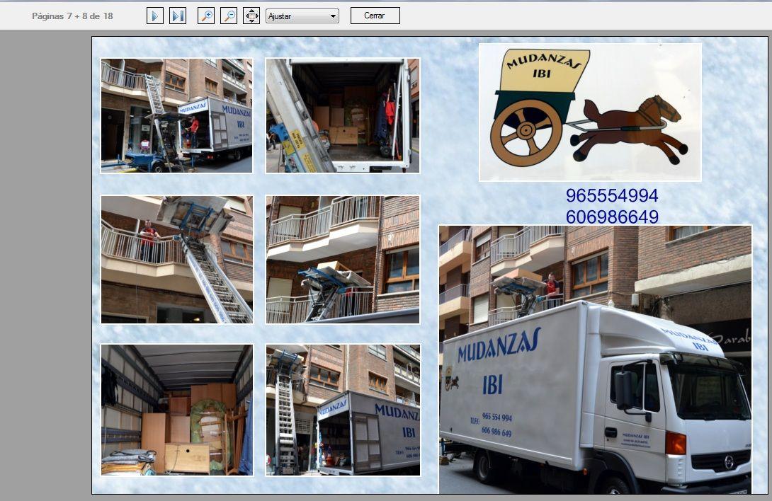 Foto 1 de Mudanzas y guardamuebles en Ibi | Mudanzas Ibi