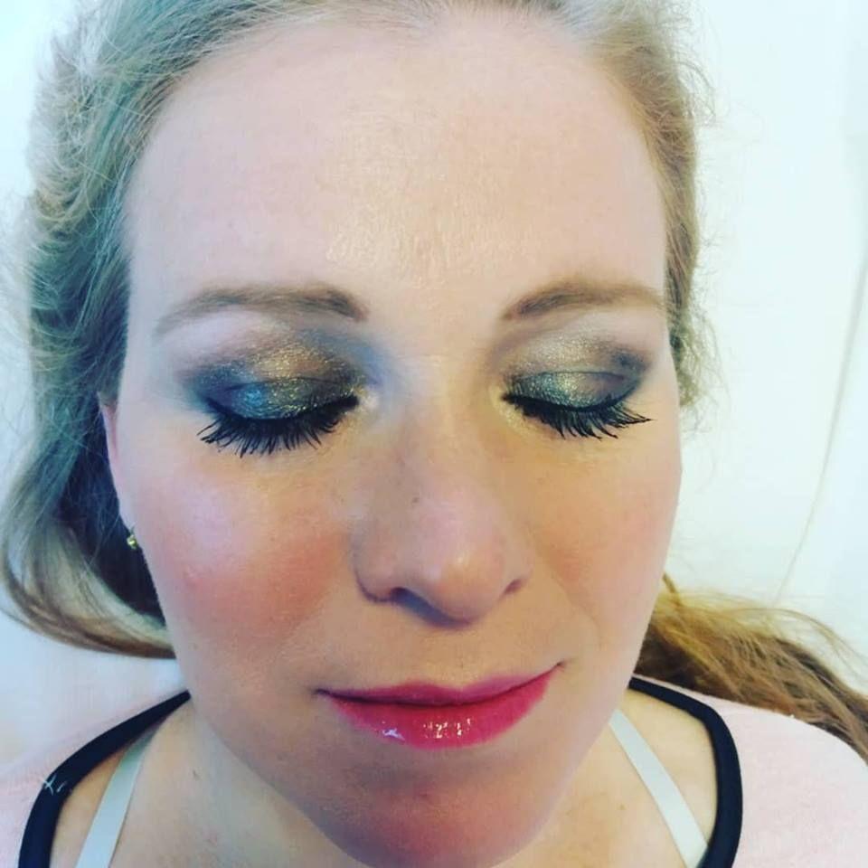 Maquillaje Para Eventos Nuestros Servicios De Claudia Arte En Unas - Maquillaje-para-eventos