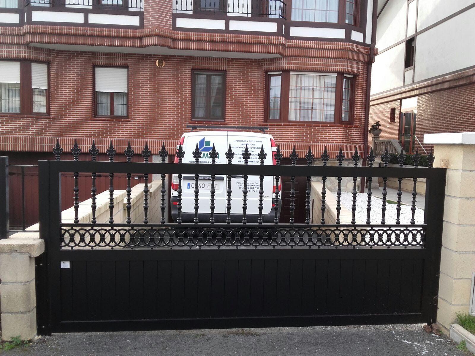 Foto 23 de Puertas automáticas en Trapagaran | Automatismos y Cierres Alman