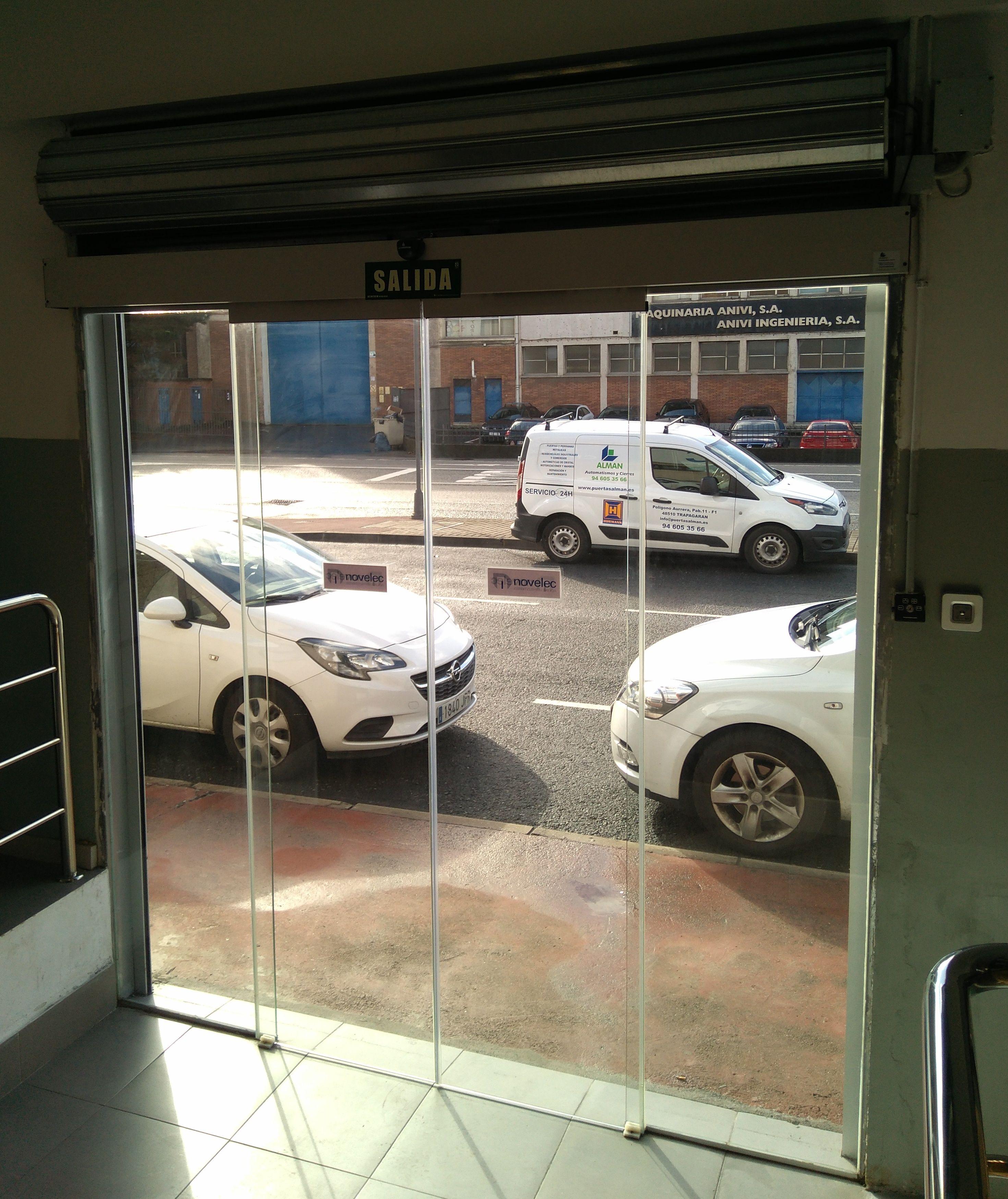 Foto 24 de Puertas automáticas en Trapagaran | Automatismos y Cierres Alman