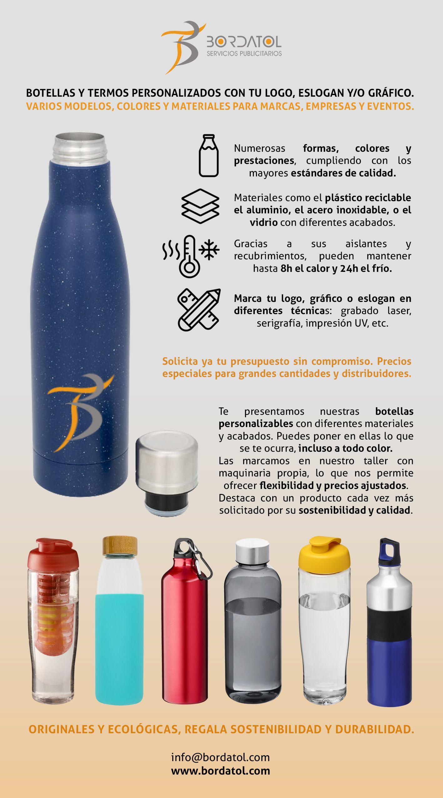 Termos y botellas personalizados