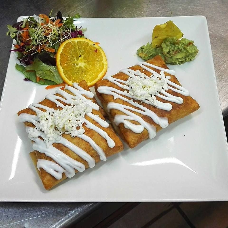 Chimichangas: Carta de Azteca Restaurante Mexicano