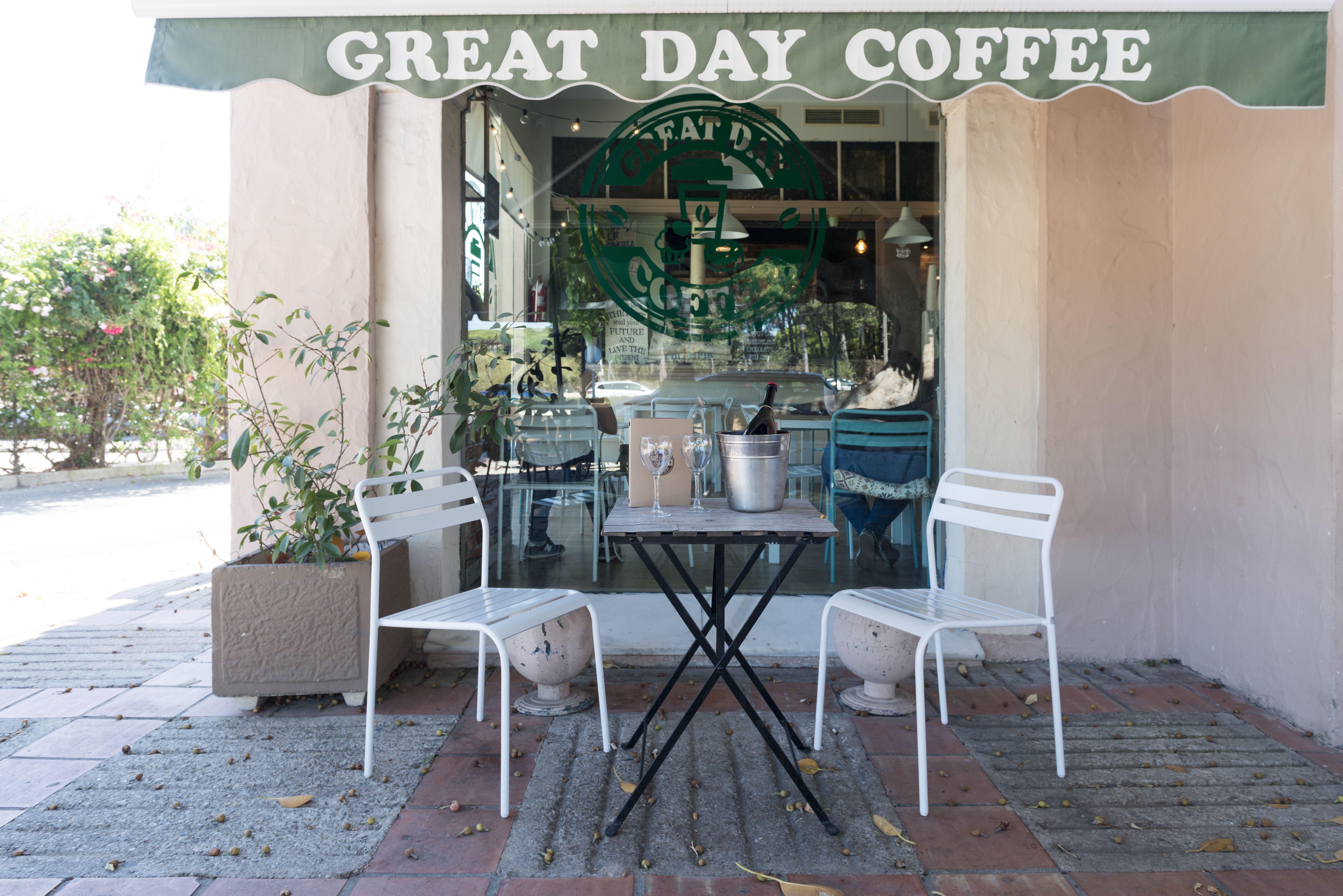 Terraza Great Day Coffee
