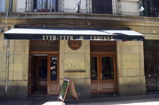 Ttun-Ttun bar de pintxos en la parte vieja de San Sebastián