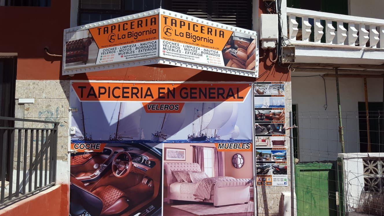 Tu tapicería de confianza en Tenerife