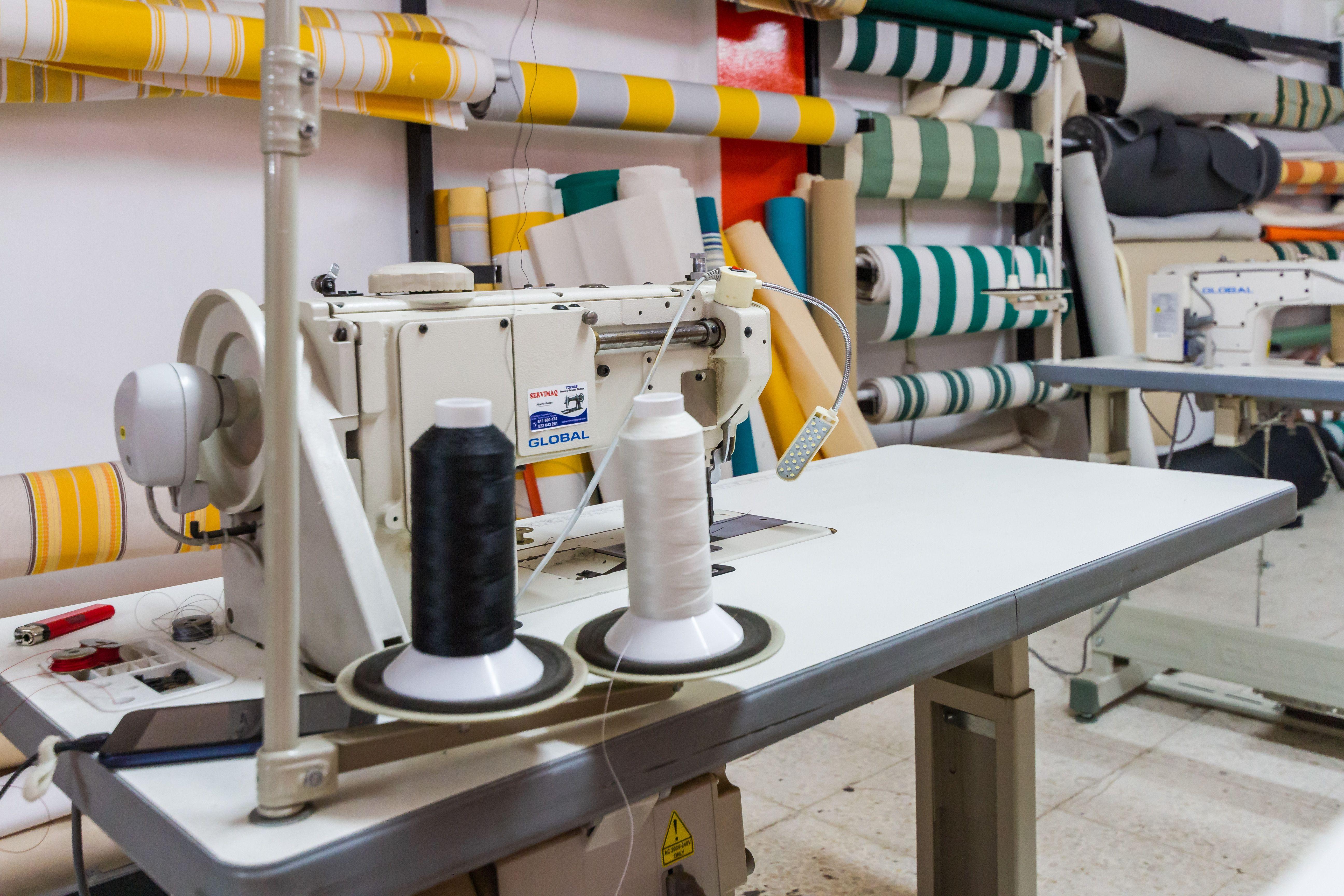 Máquina de coser industrial La Bigornia Tapicería