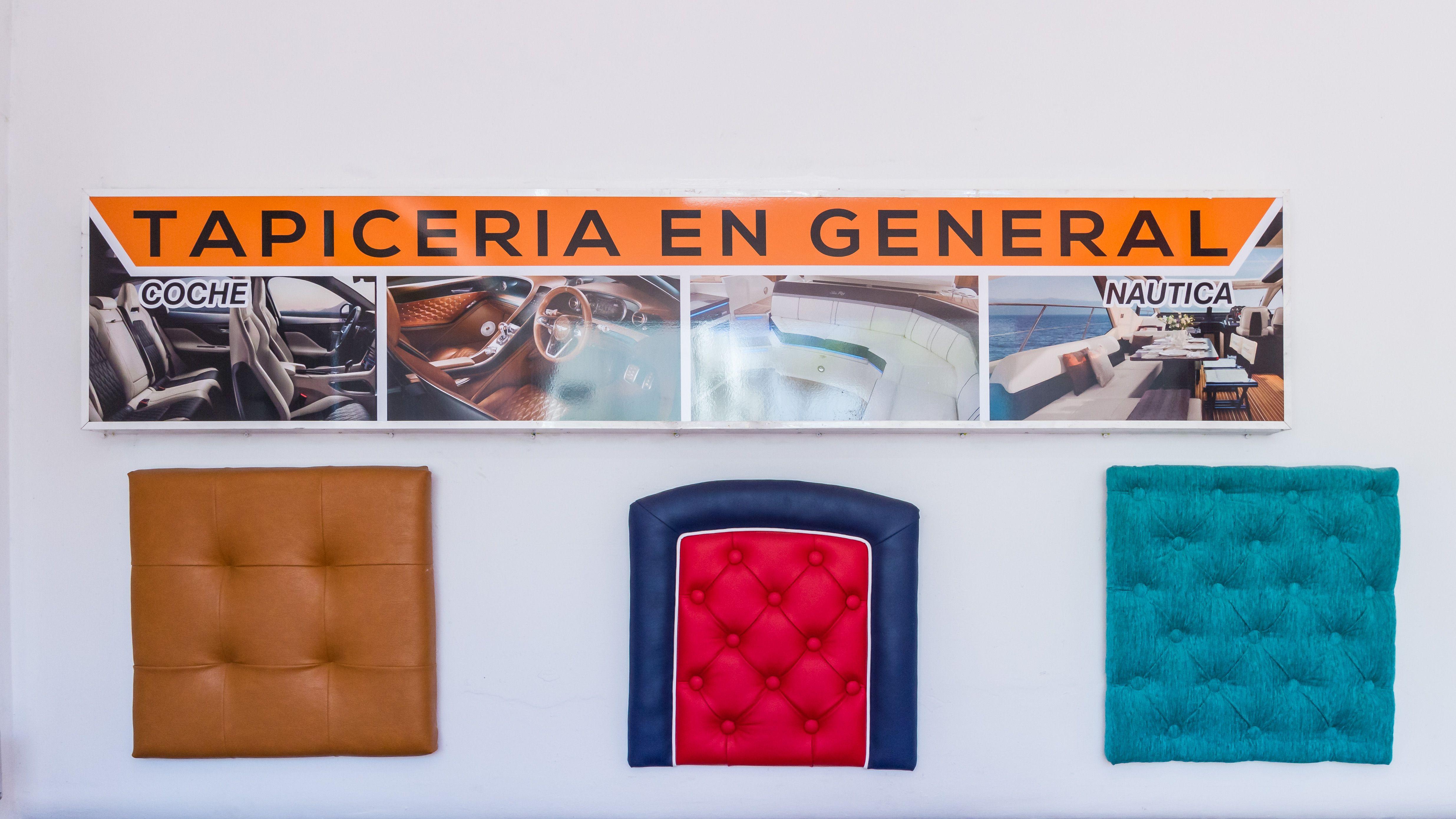 Muestrario de tapicería La Bigornia Tapicería