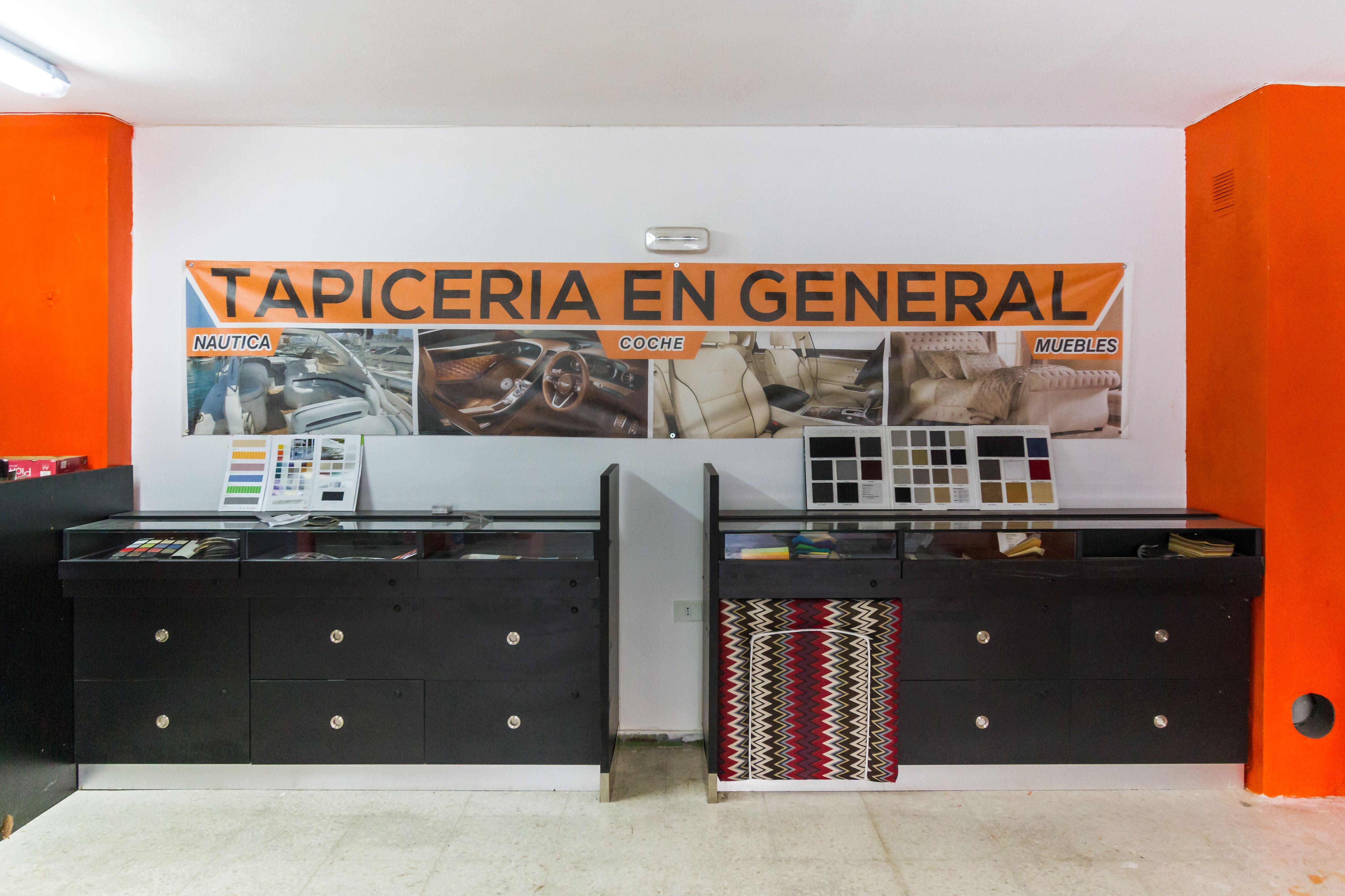 Zona muestrarios La Bigornia Tapicería