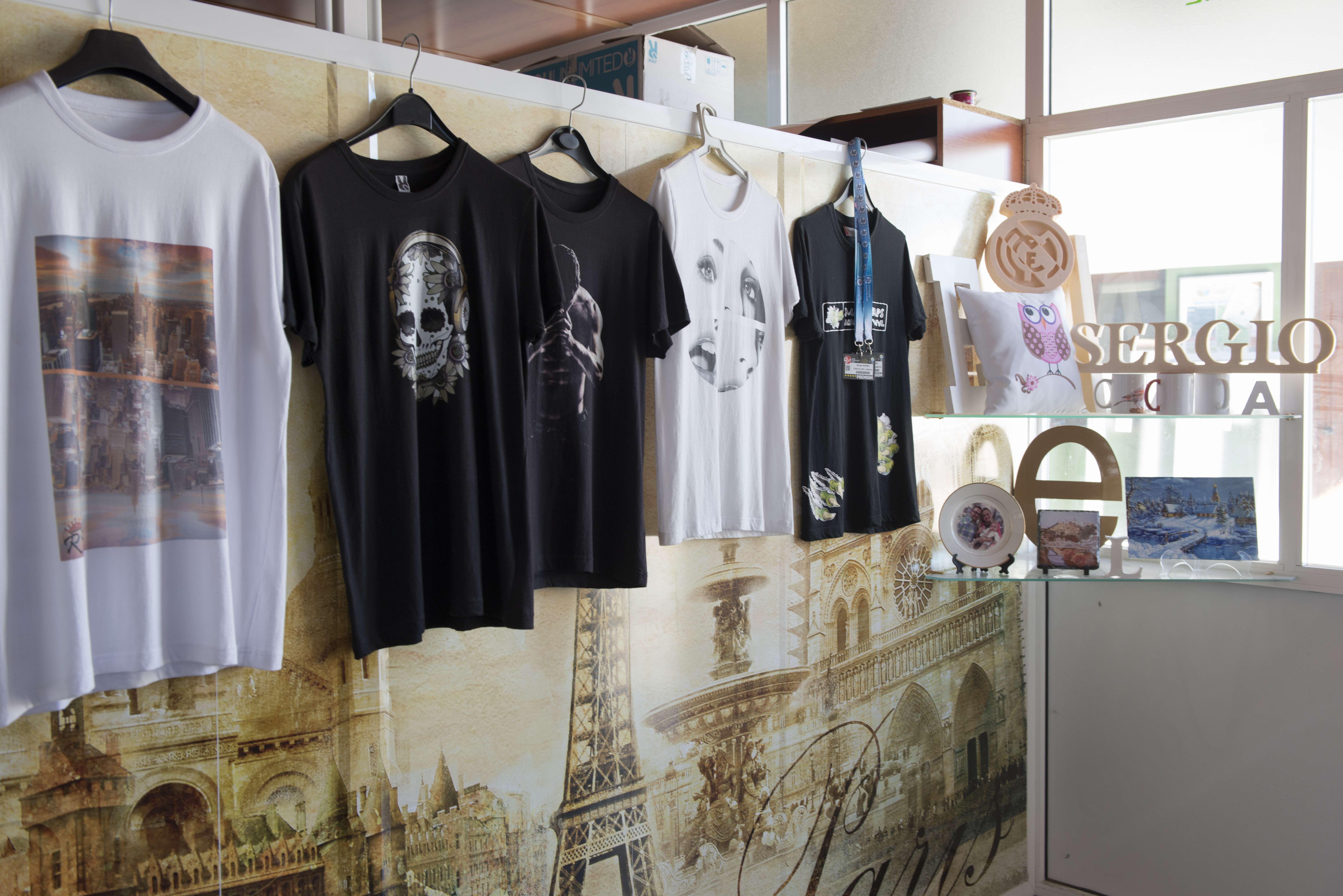 Impresión de camisetas en Cádiz