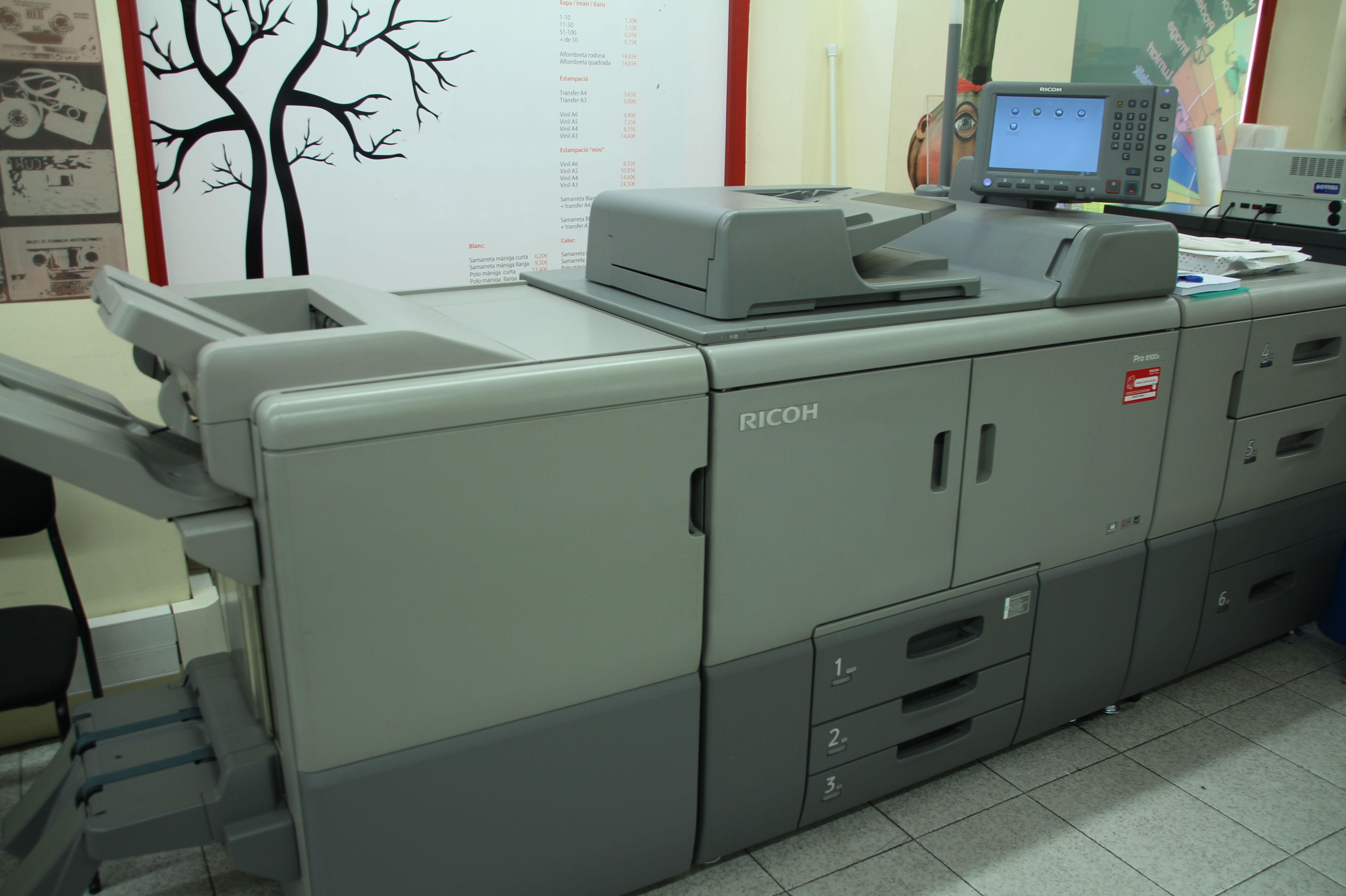 Impresión de documentos en Sabadell