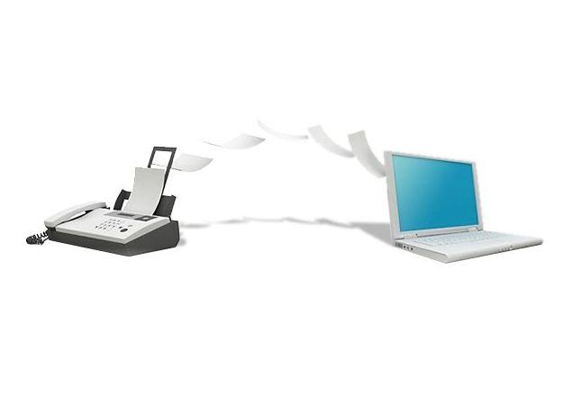 Servicio de fax y email