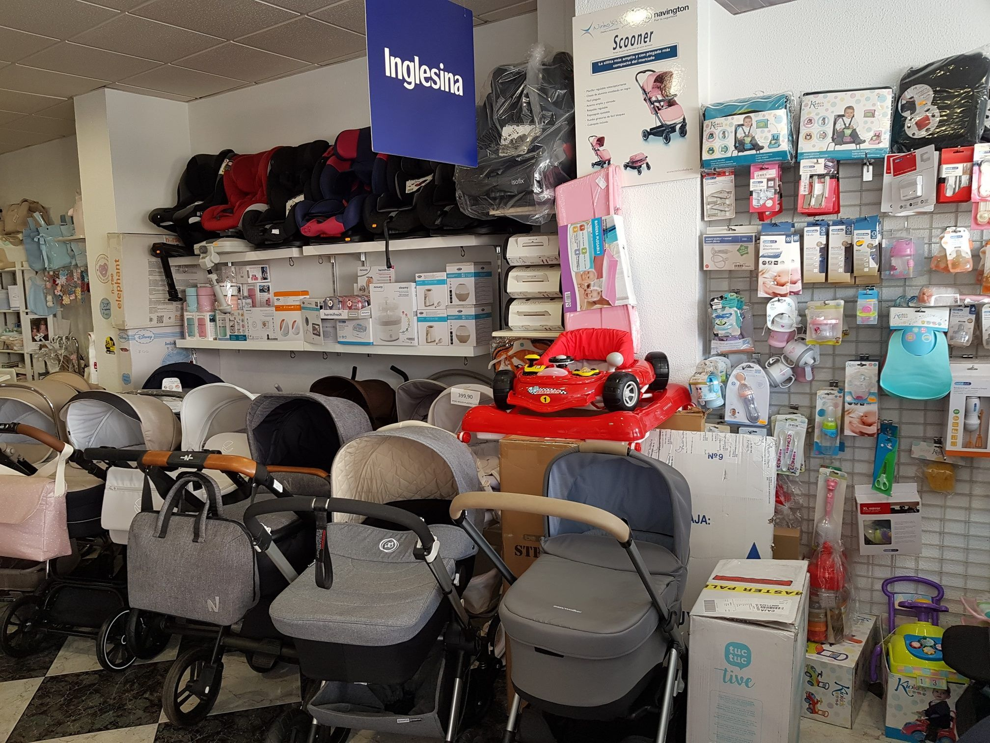 Tienda especializada de puericultura Lepe
