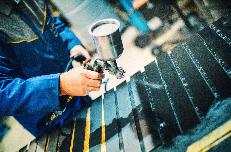 Pintura industrial: Productos y servicios de Pinturas Clenin