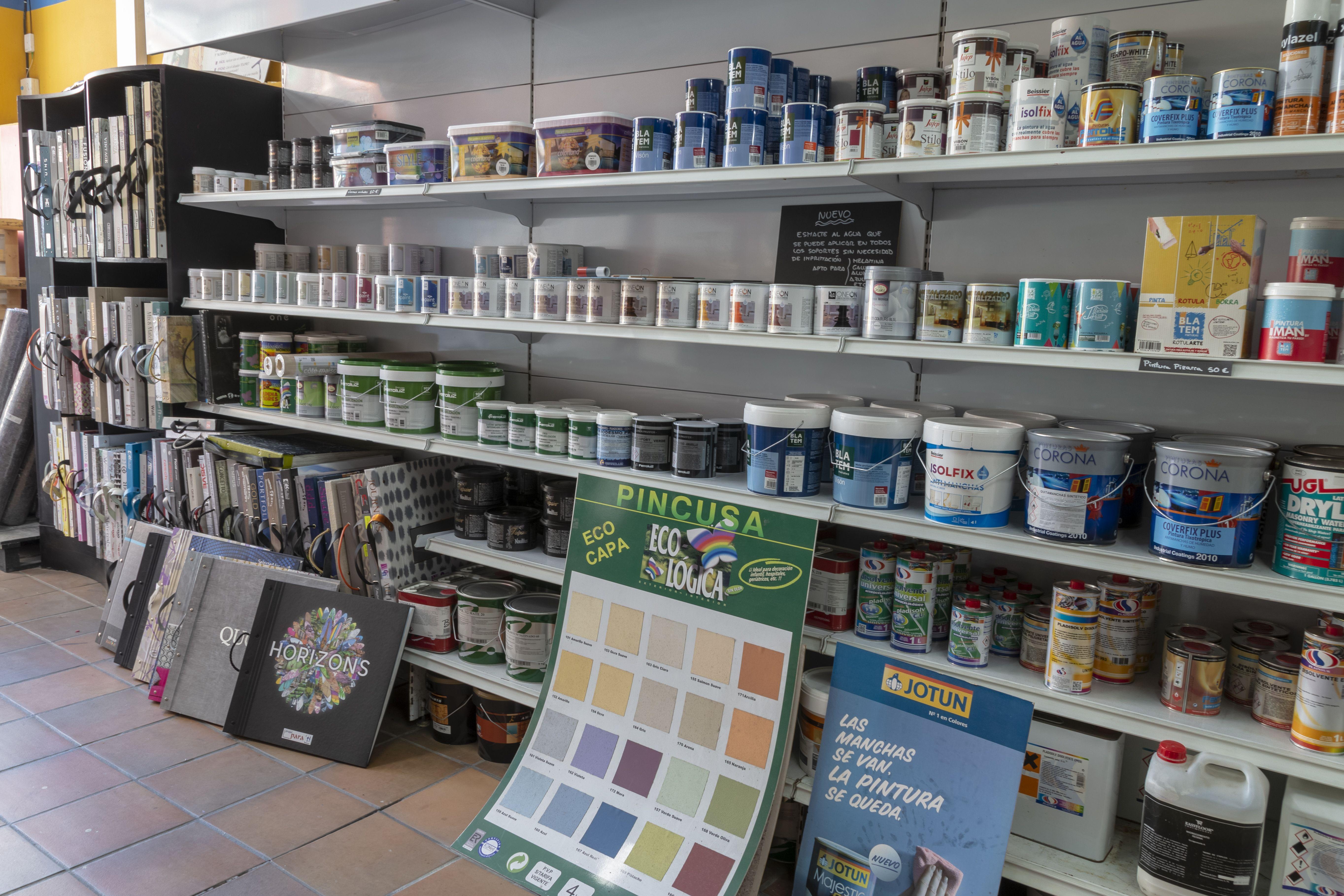 Venta de pintura de diferentes tipos en Vigo
