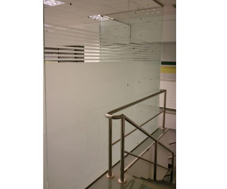 Separaciones de cristal para oficinas