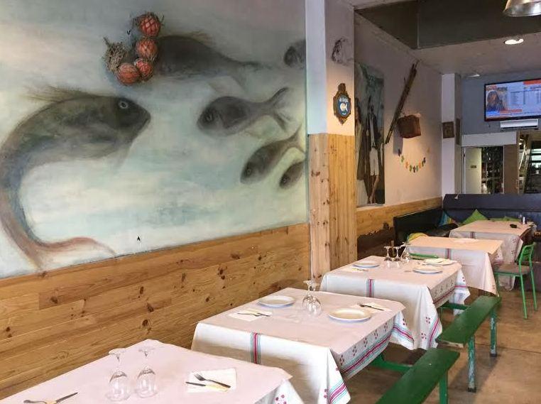 Restaurante asador de pescado