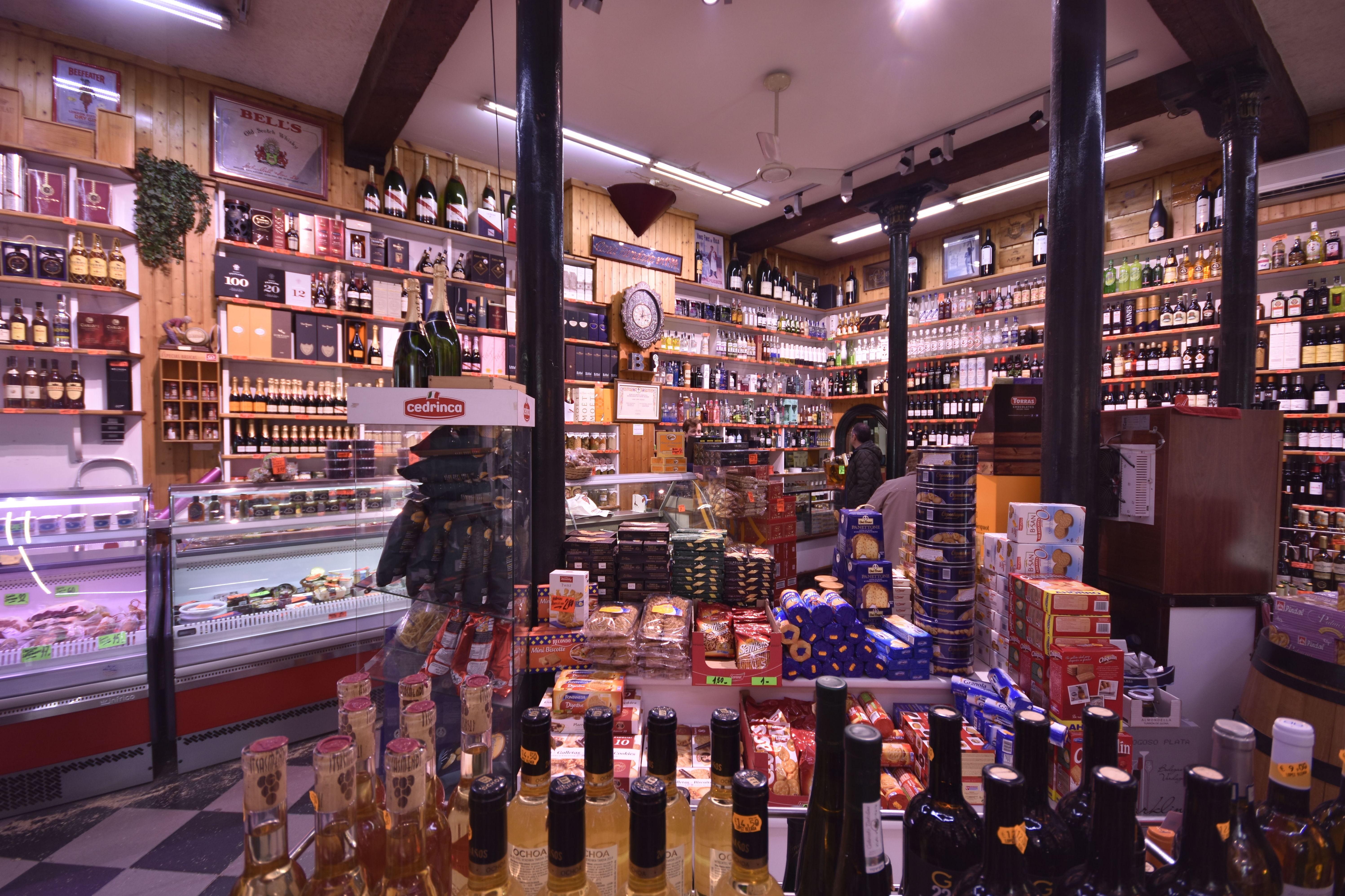 Tienda de delicatessen en Bilbao