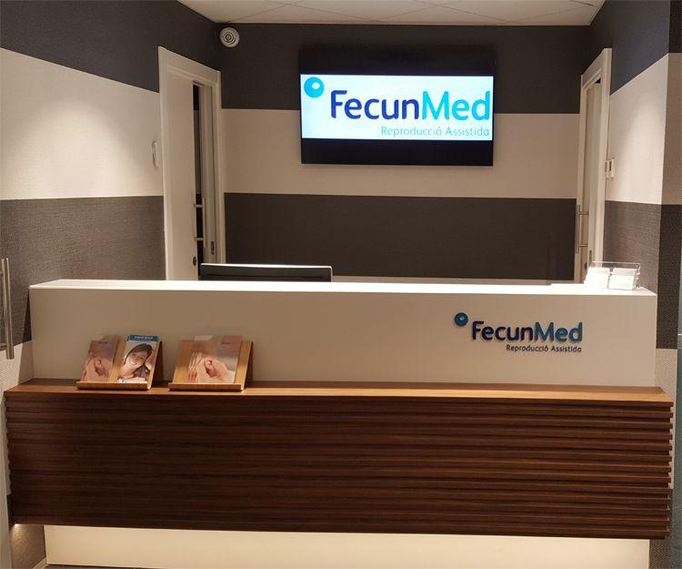 Recepción de clínica de reproducción asistida Sant Antoni de Vilamajor