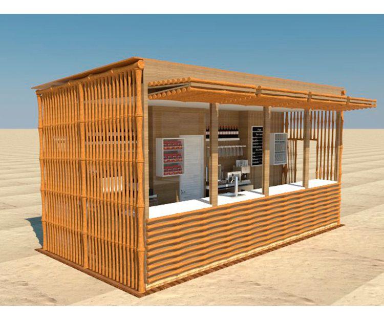 Instalación de chiringuitos de playa en Sant Antoni de Vilamajor