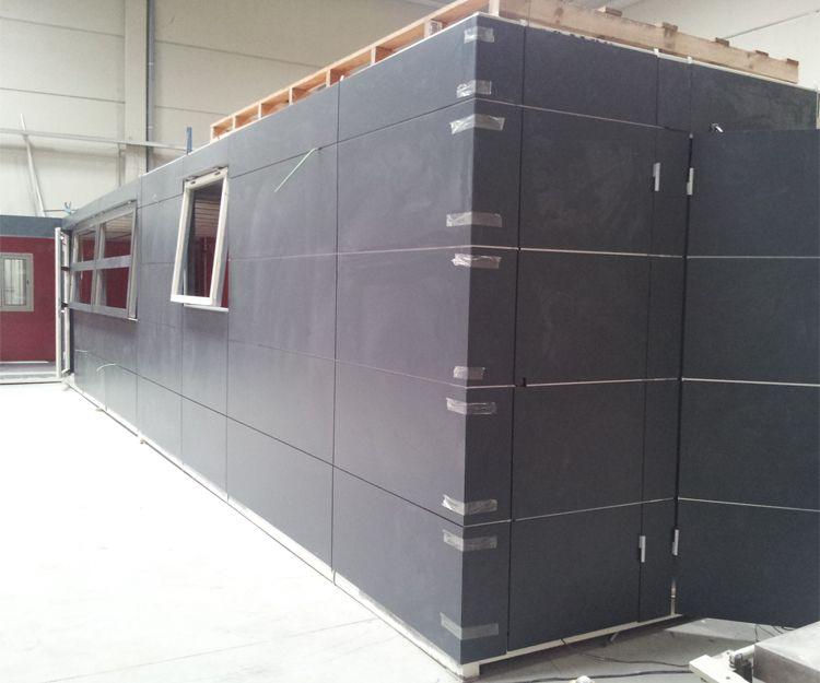Proceso de instalación de contenedores en Sant Antoni de Vilamajor