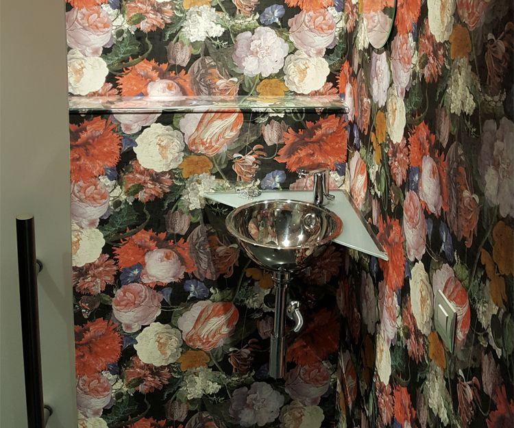 Detalle de cuarto de baño de clínica en Sant Antoni de Vilamajor