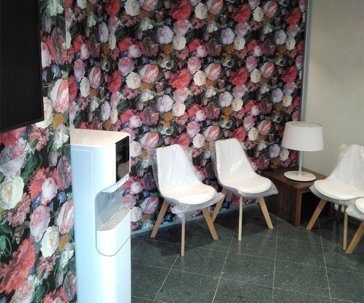 Sala de espera en clínica en Sant Antoni de Vilamajor