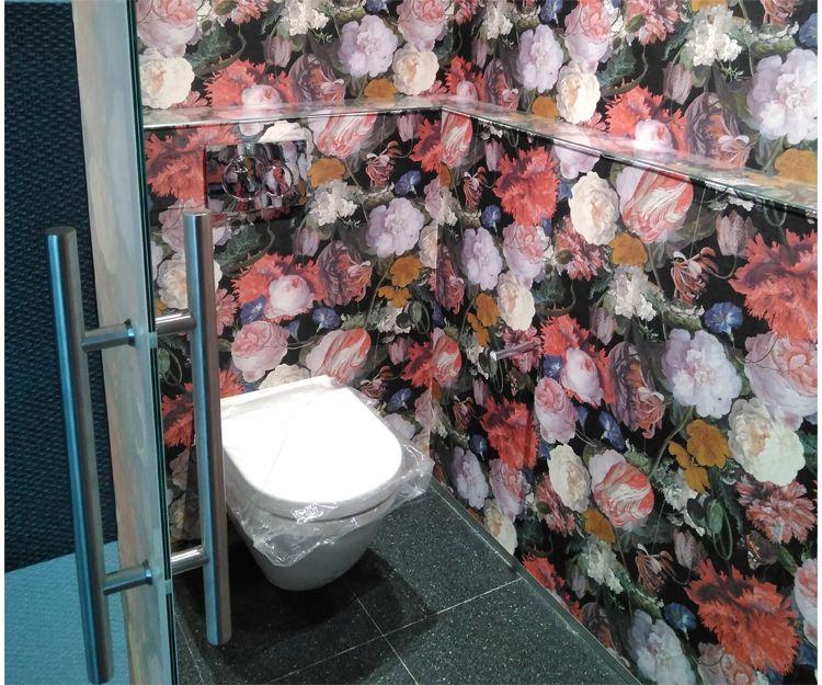 Cuarto de baño con diseño en clínica en Sant Antoni de Vilamajor