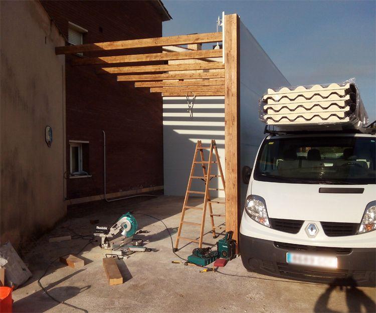 Cosntrucción de garaje en Sant Antoni de Vilamajor