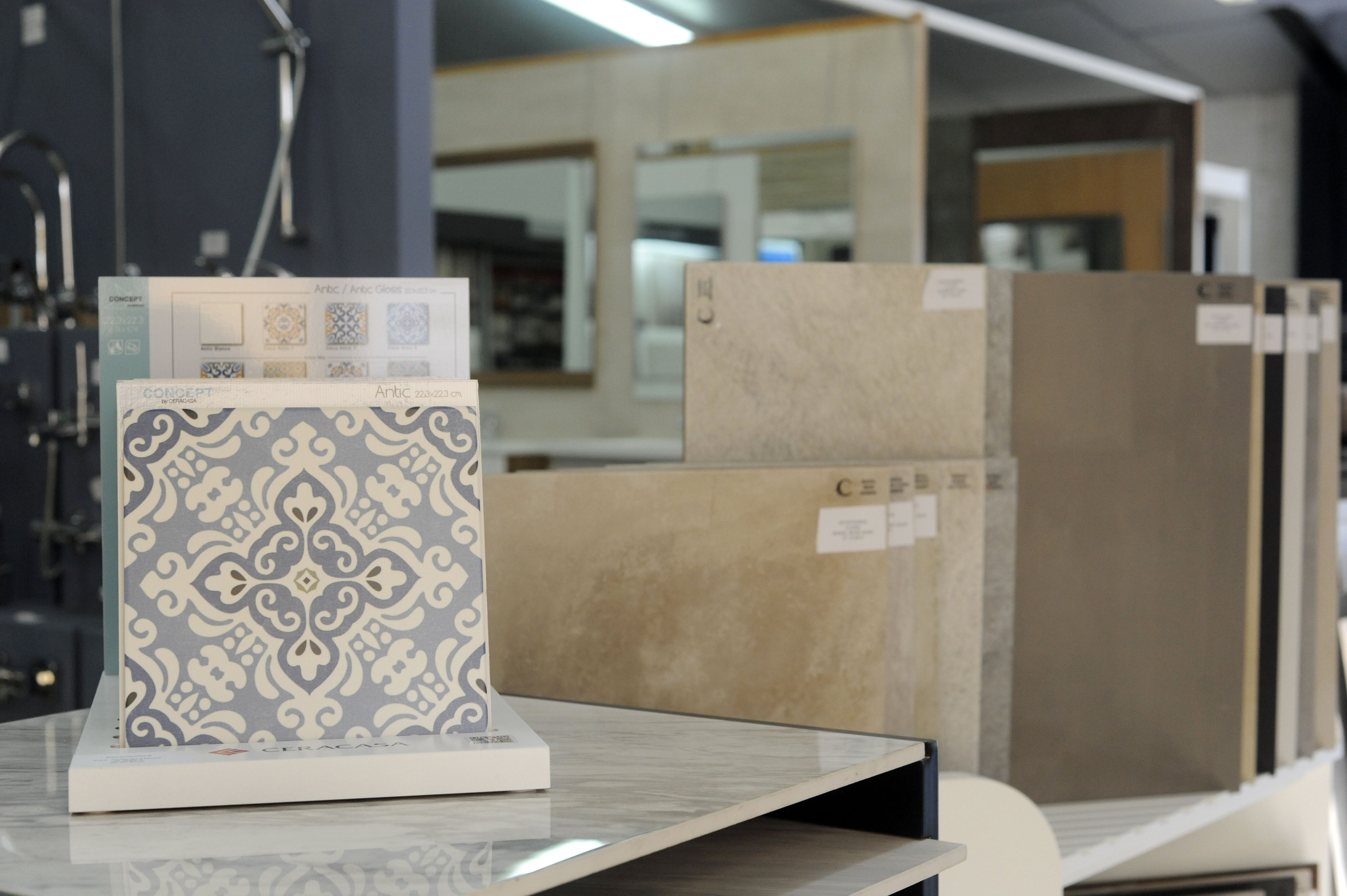 Distribución de azulejos en Estepa