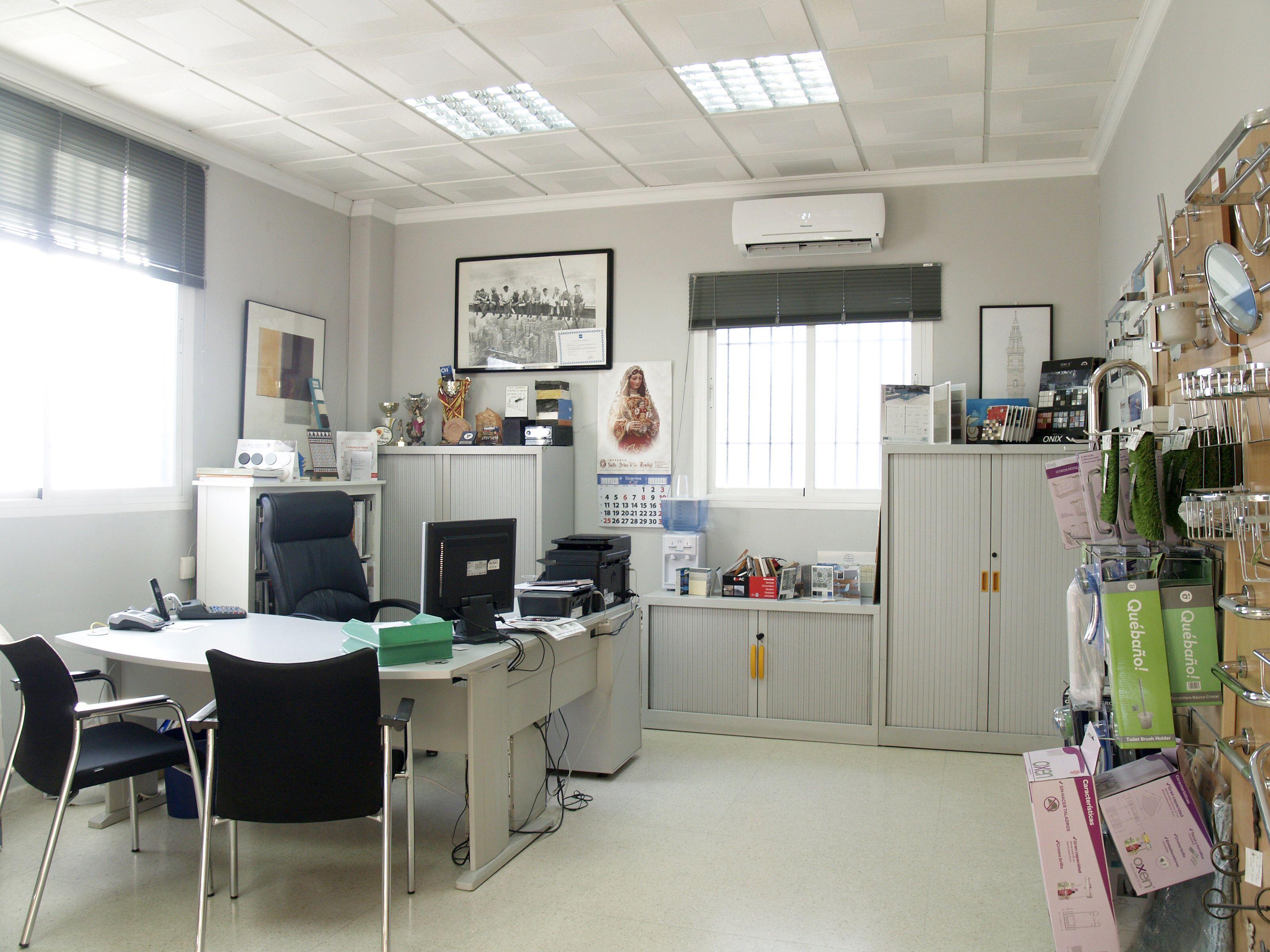 Oficinas de nuestra empresa de azulejos en Estepa