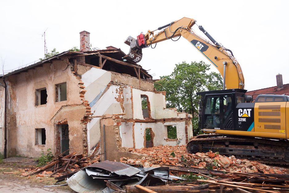 Derribos y demoliciones en Navarra