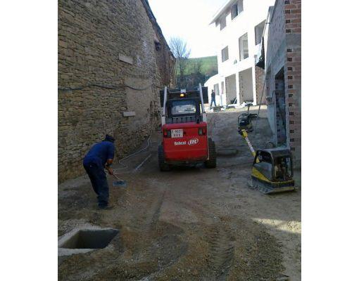 Servicio de mini excavadora en Navarra