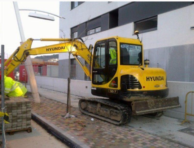 Maquinaria de última generación: Servicios de Excavaciones Royo Hermanos