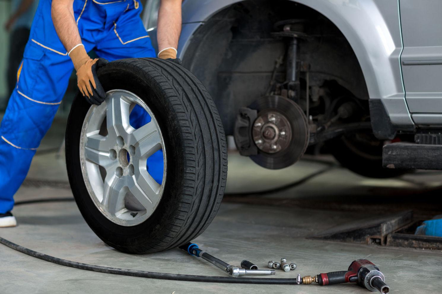 Sustitución de neumáticos en Palencia