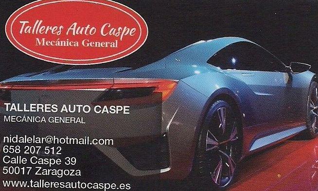 Foto 1 de Talleres de automóviles en Zaragoza | Talleres Auto Caspe