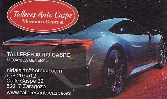 TALLERES AUTO CASPE ENTRE LOS MEJORES TALLERES MECANICOS DE ESPAÑA : Servicios de Talleres Auto Caspe