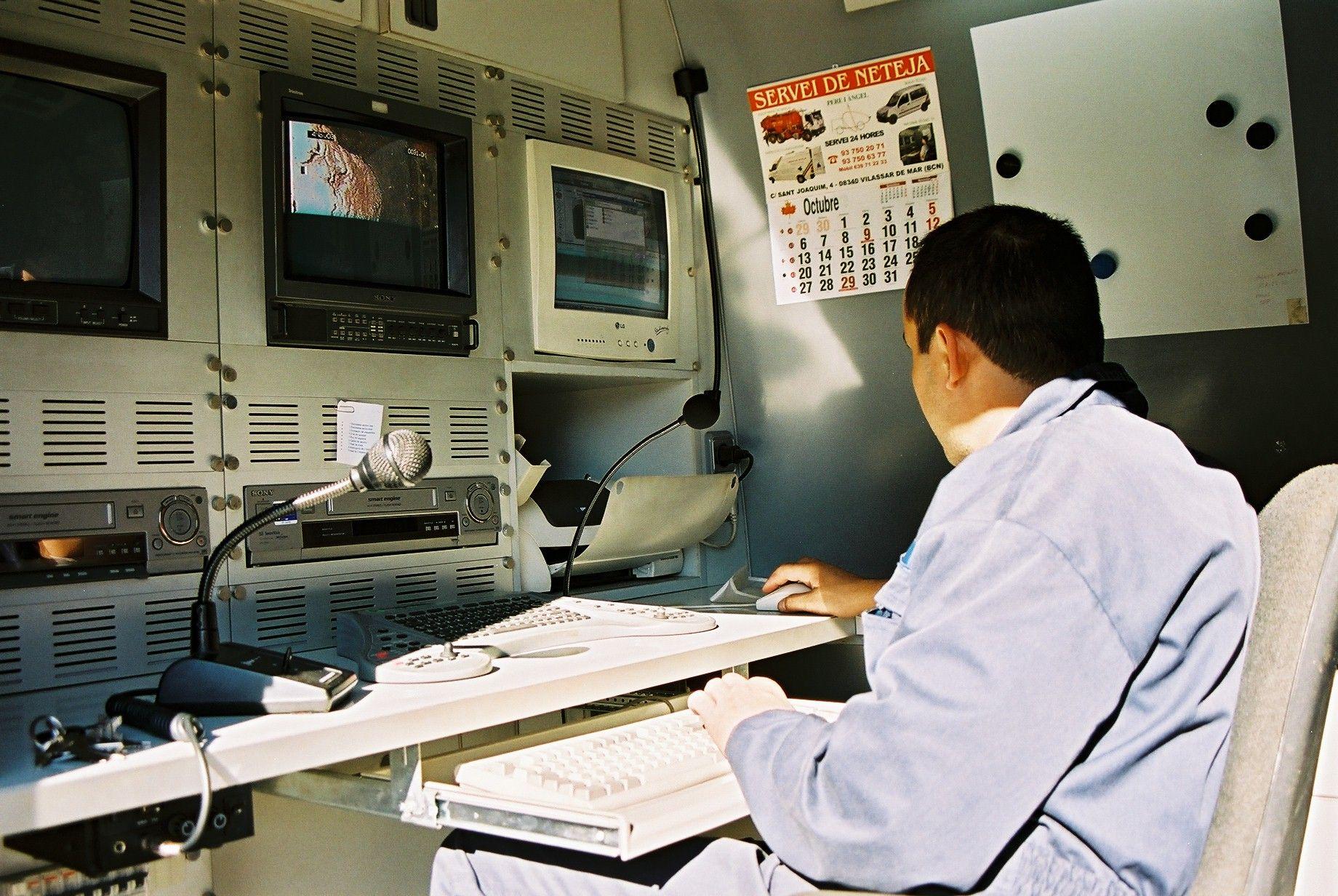 Inspección TV de alcantarillado Barcelona