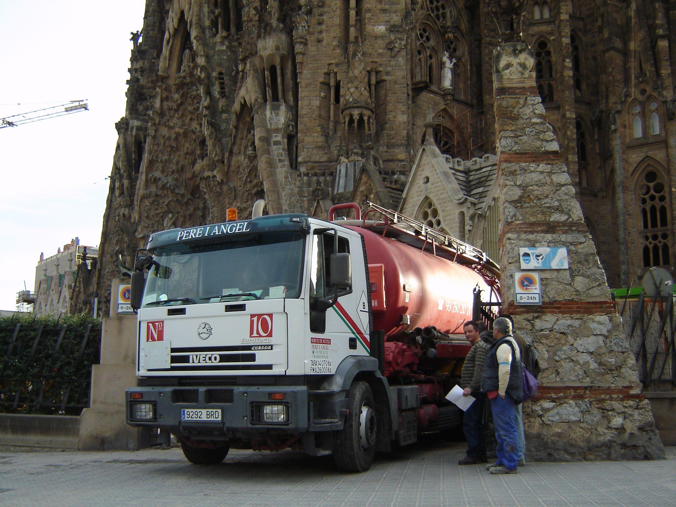 Saneamiento alcantarillado Barcelona