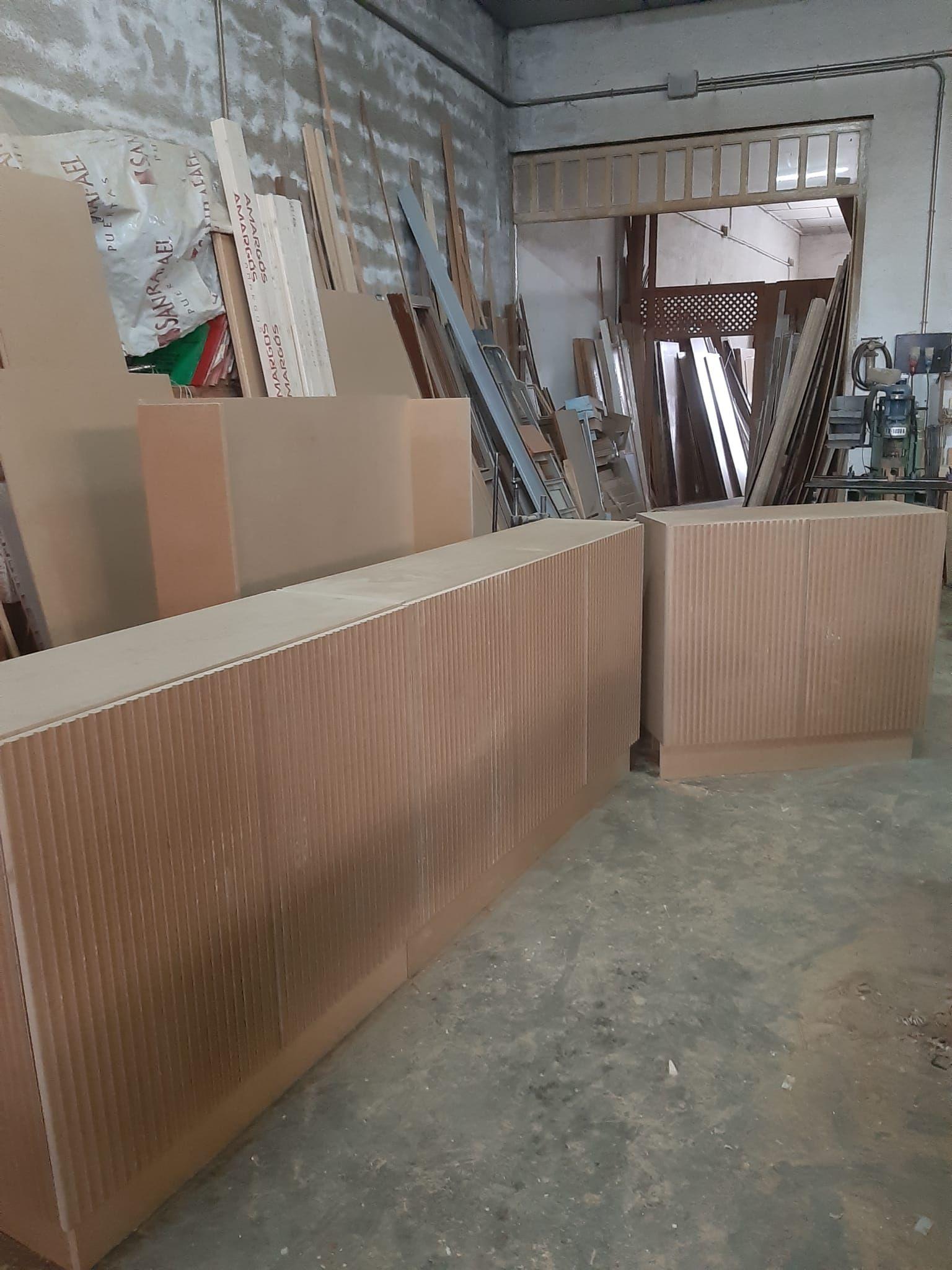Trabajos de carpintería en Toledo