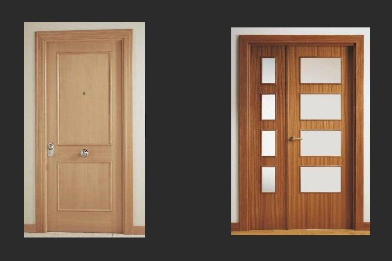 Carpintería y ebanistería, puertas de madera Toledo