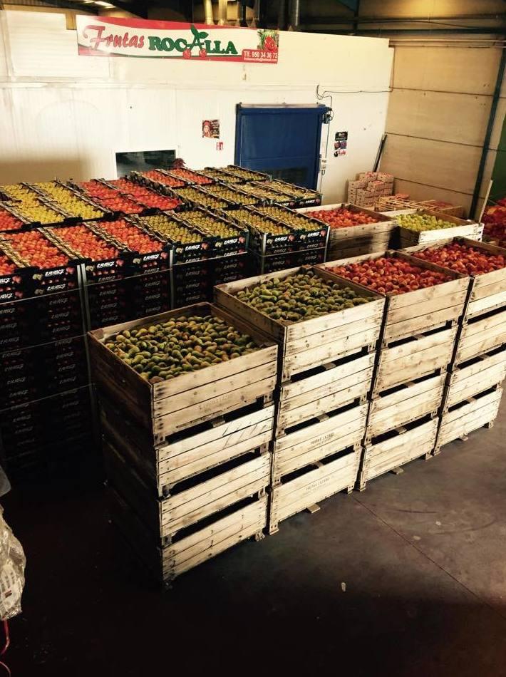 Frutas Rocalla, Almería