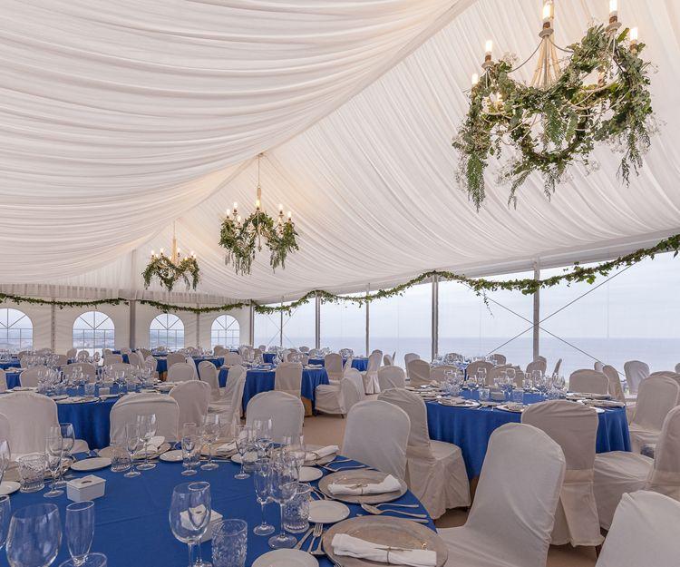 Carpas, mobiliario y material de menaje para el día de tu boda
