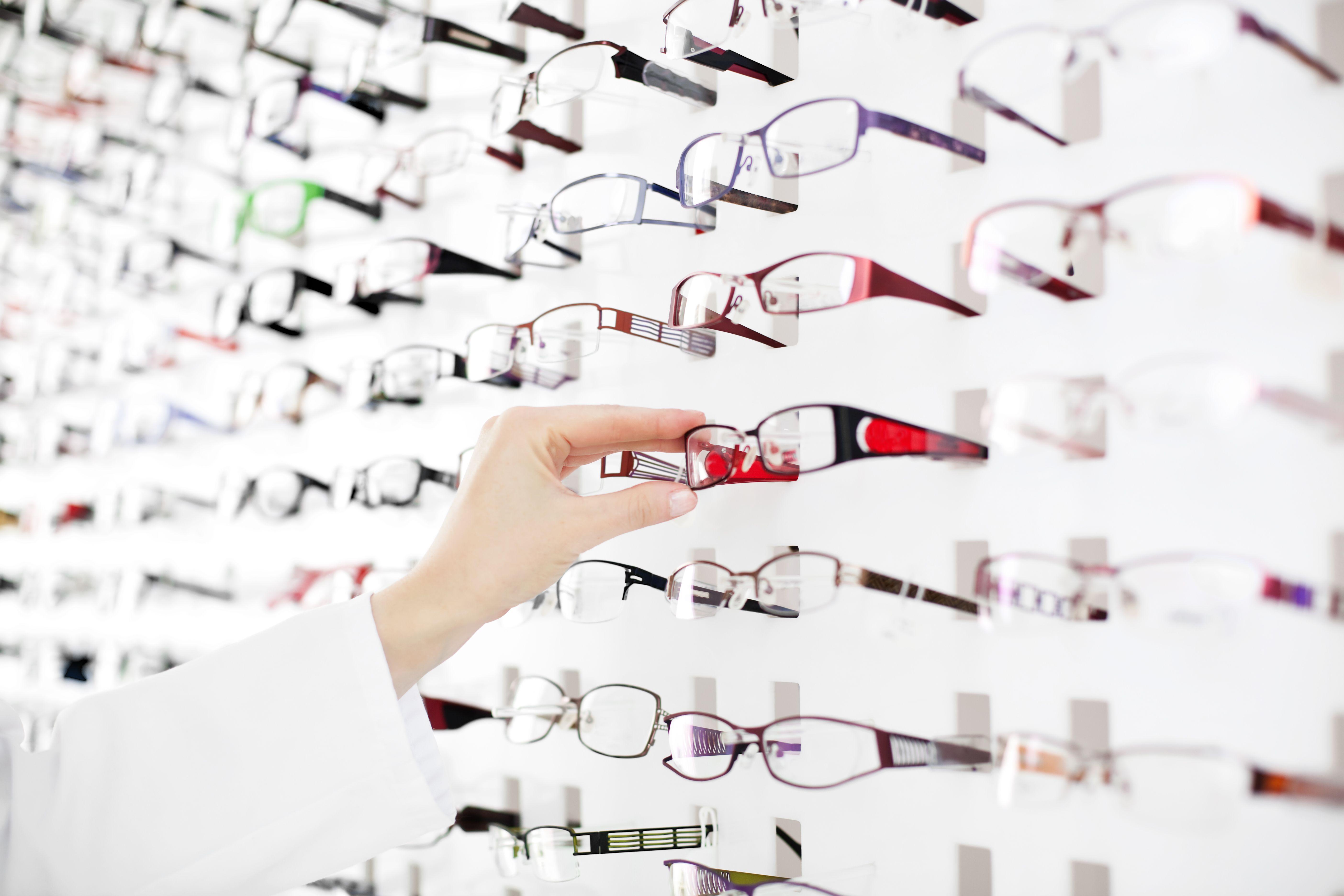 Gafas graduadas y lentes de contacto