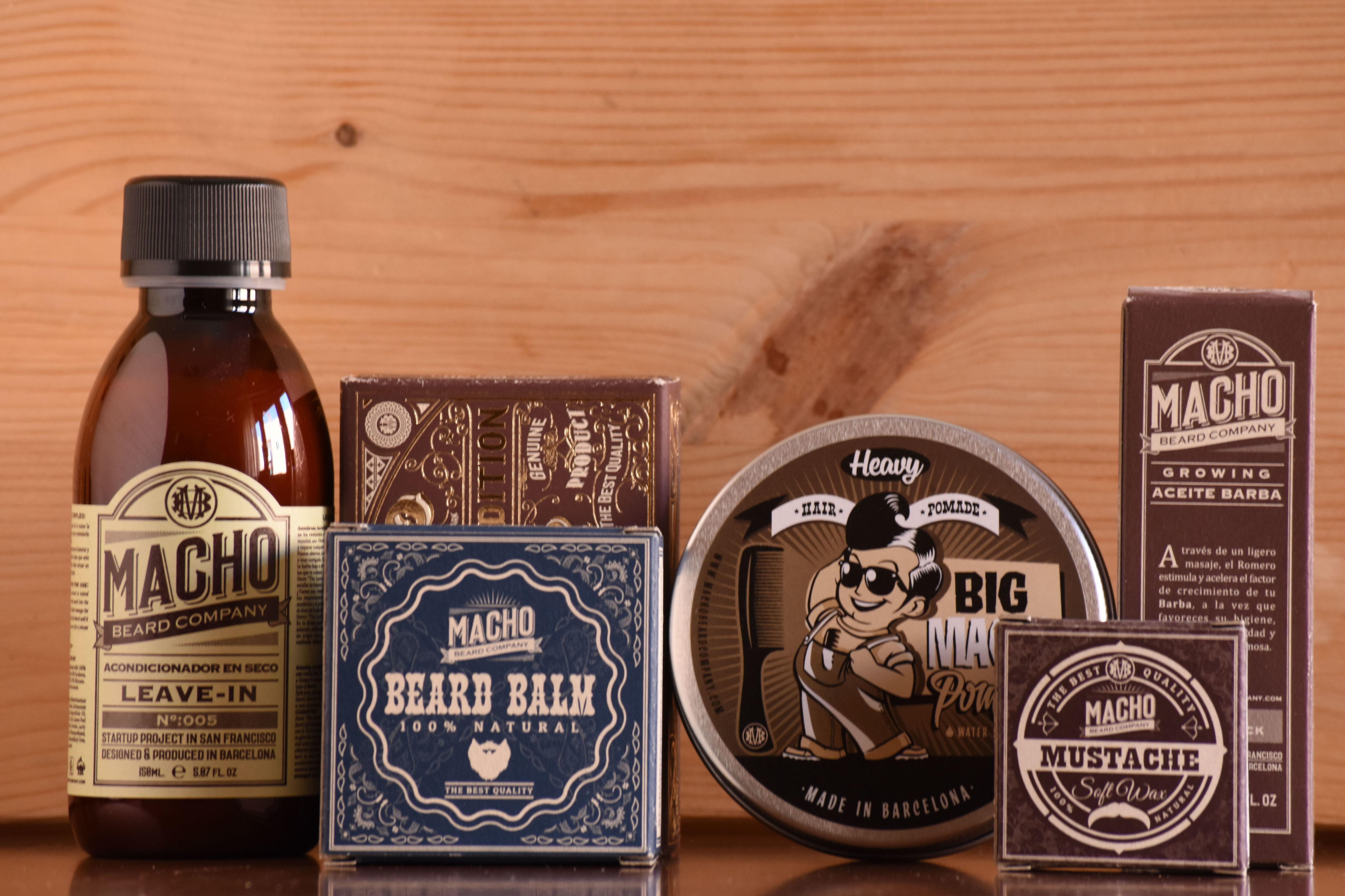 Macho Beard Company: Catálogo de Barbería GyC