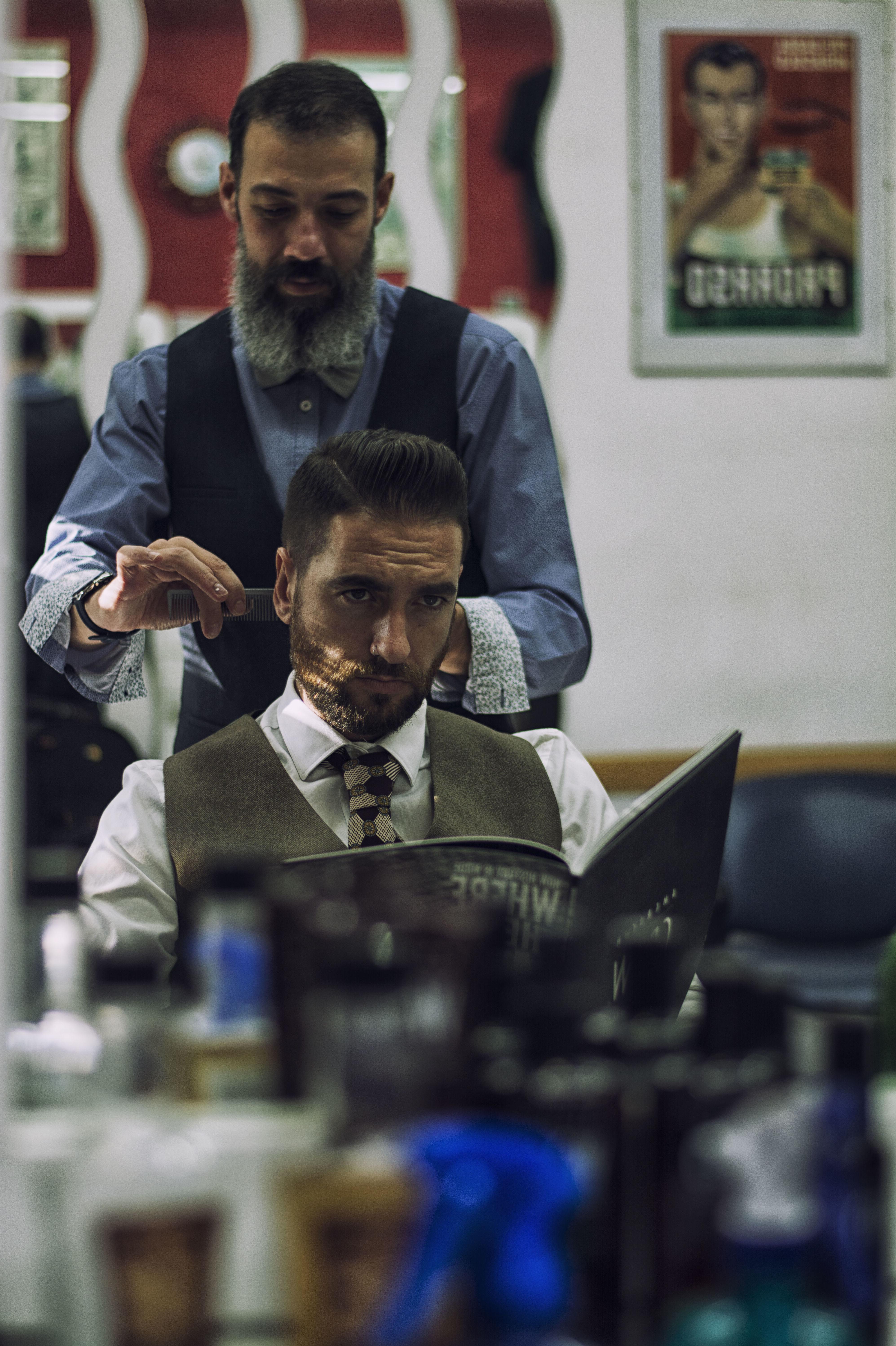Corte de pelo: Catálogo de Barbería GyC