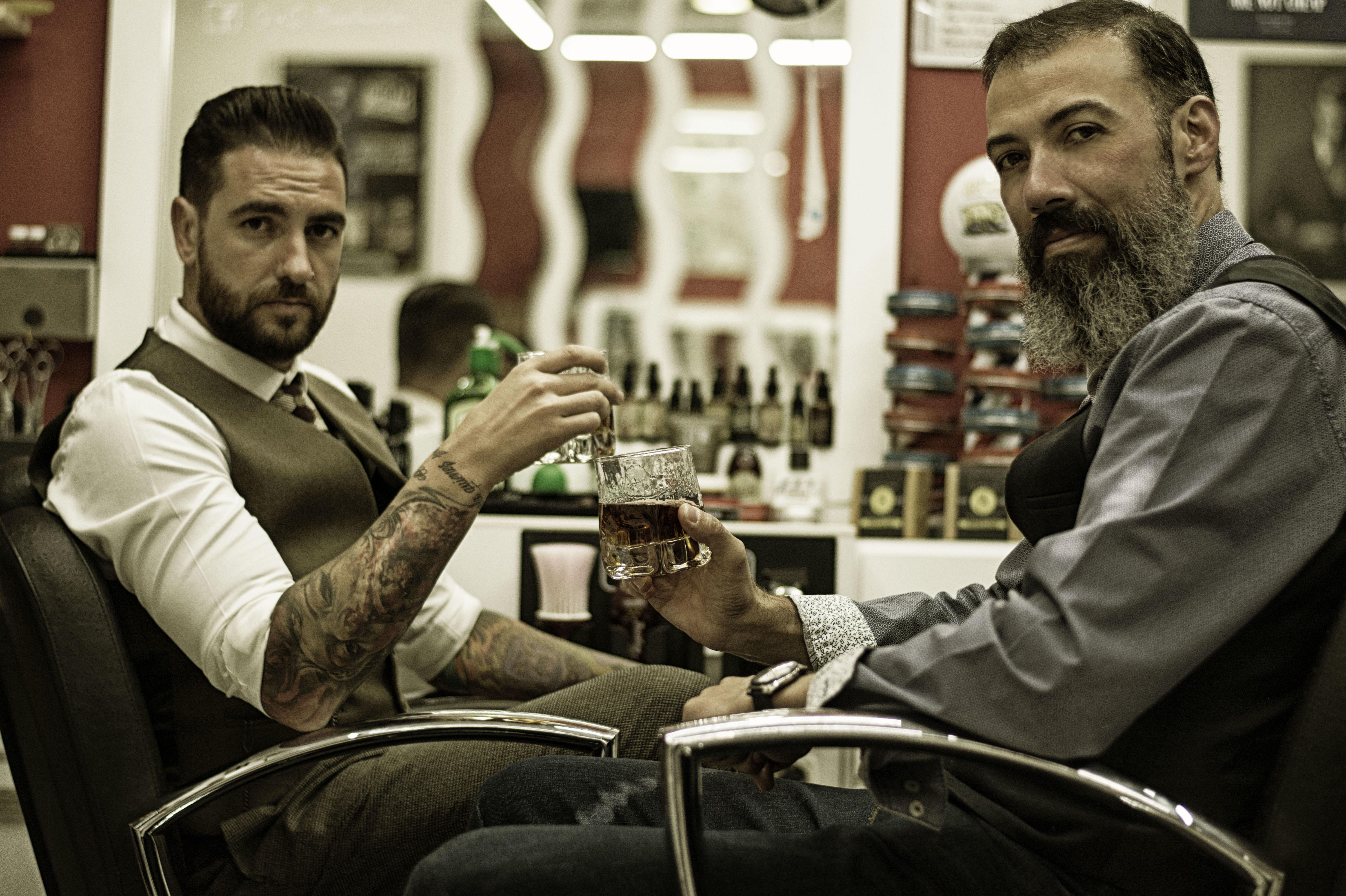 Sesión de fotos en la Barbería